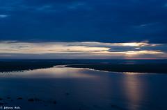 DSC_0216 (fabiennethelu) Tags: ocean sea sky cloud mer seascape france beach water coast seaside twilight nikon horizon shoreline ciel nuages crpuscule plage reflets sangatte borddemer