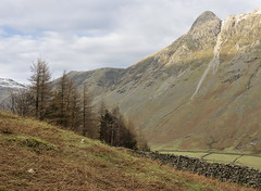 Pike of Stickle, Great Langdale, Lake District National Park, Cumbria, UK (Ministry) Tags: uk snow tree nationalpark lakedistrict cumbria landslide scree pikes drystonewall langdale neolithic pikeofstickle pikeostickle stoneaxe blackcrags martcragmoor