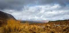 Scottish Highlands (johnp_hagen) Tags: road uk sky panorama mountain snow nature landscape scotland spring highlands nikon britain may highland ullapool scottishhighlands scotlandhighlandslandscapewildlife