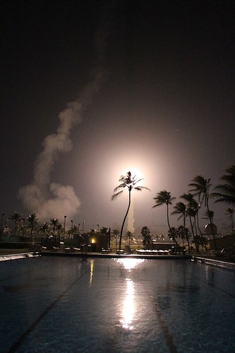 Experiment Launches from the Marshall Islands
