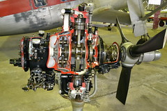 Alvis Leonides MK.504/4 Engine - 1950 (jambox998) Tags: pembroke aviation nine hunting engine scottish 9 used cylinder pioneer 1950 alvis percival radial cutaway provost leonides mk5044