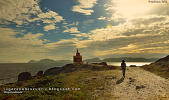 Faro de Cabo Home (Cangas do Morrazo, Pontevedra) (lugaresadescubrir) Tags: ocean sea espaa mer lighthouse faro mar spain espanha atlantic espagne pontevedra spanien riasbaixas oceano atlantico atlantique cangas cangasdomorrazo morrazo oceane contremo spanja contremolad