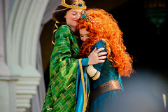 Merida and Elinor (abelle2) Tags: disney queen disneyworld merida pixar brave wdw waltdisneyworld magickingdom coronation disneyprincess elinor princessmerida queenelinor meridacoronation