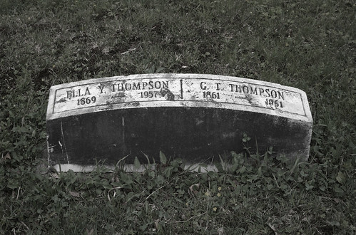 thompson lived 100 years