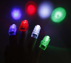 laser finger beams (huayiinc) Tags: finger laser beams