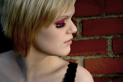6b (RebeccaLynnPhotography8) Tags: pink portrait female photoshop makeup cannon expressive editing piercings artistry
