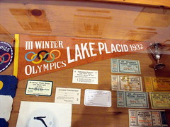 1932 III Lake Placid Winter Olympics Pennant And Event Tickets. (dccradio) Tags: ny newyork tickets flag upstateny olympics olympicvillage lakeplacid coupons pennant winterolympics olympiccenter olympicmuseum northernny olympicarena eventtickets olympicpennant olympiceventtickets 1932olympictickets