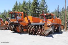 Caltrans Blowers (RyanP77) Tags: snow northwest schmidt sierras removal sierranevada kodiak caltrans blower kingvale