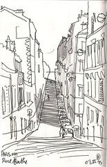 130608Randocroquis Paris rue Berthe