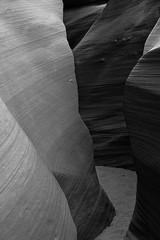 Lower-Antelope-BW1s (Warren06) Tags: arizona blackandwhite bw river sandstone desert monotone erosion page navajo redrock slotcanyon rockformation