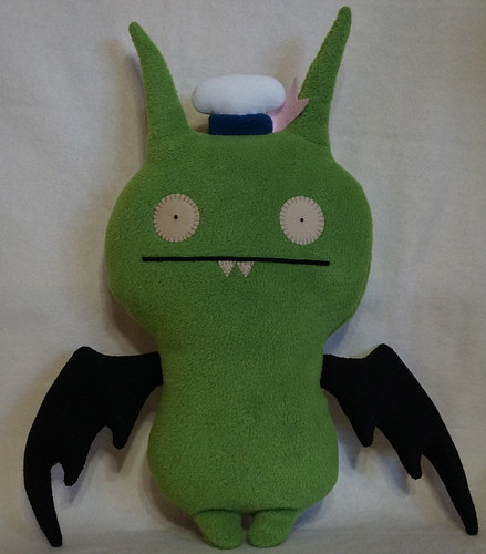 Uglydoll Handmade David Horvath and Sun Min -  Sailor Poe