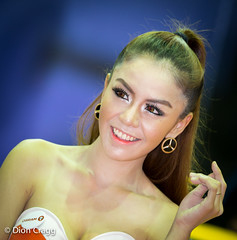 Tri Star (Dion Cragg) Tags: portrait beauty smile smiling asian thailand model asia bangkok models autoshow thai cleavage autosalon thaigirls asiangirls asianmodels asianbeauty asianmodel promogirls asianbeauties thaimodel thaimodels asianportrait asianportraits promogals bangkokautosalon2013