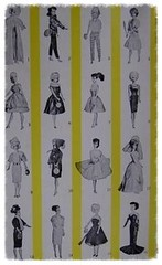 Petra fashion line 1965 (corrected & completed) (Polly Plasty I.) Tags: petra 1965