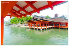 (Itsukushima Shinto Shrine) (Akinori Li) Tags: japan temple shrine hiroshima shinto torii  worldheritage itsukushima  sanctuaire   akinori    ditsukushima  akinorili