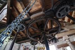 Holgate Windmill, July 2013 (7) (nican45) Tags: wood york slr mill windmill wheel canon yorkshire sigma wideangle chain machinery ironwork dslr 1020mm gears 1020 shaft holgate 600d stonefloor hwps 1020mmf456exdc holgatewindmill sackhoist eos600d stonesfloor