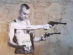 4 Arm Travis Bickle Wheatpaste by TOVEN (T0VEN) Tags: street streetart art painting underground graffiti stencil artist swoon drawing wheatpaste fineart stickers paintings obey banksy baltimore urbanart streetartist travis travisbickle taxidriver spraypaint bickle lowbrow scorsese deniro graffitialley loadsoffun graffitiwarehouse toven graffitixgraffiti warehousexgraffiti alleyxbaltimorexwheat pastexstreet artxlowbrowxartxpaintingxpaintingsxdrawingxstreetxspraypaintx