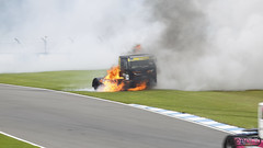 British Truck Racing Donington Park Raceway 17th August 2013 (boddle (Steve Hart)) Tags: park tractor truck fire big august racing lorry rig british motorsports 17th motorsport unit donington racway 2013