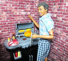 Summer Fun (Bubblegum18) Tags: family summer ken barbie bbq mattel diorama