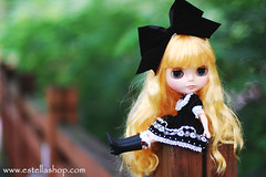 Estella Shop New Handmade Outfit - Black Alice