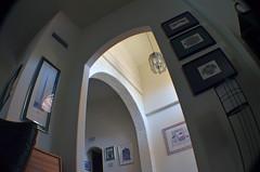 Space Bender (MPnormaleye) Tags: distortion strange modern composition weird angle wideangle ceiling fisheye odd utata viewpoint bizarre vantage