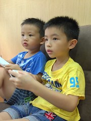 game time (pang yu liu) Tags: playing kai aug eason 08 yi wii   2013