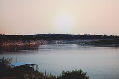 173 365 (Stellie Chavez) Tags: pink blue lake selfportrait art water photography body fine ellie chavez laketravis bodyofwater elliechavezphotography