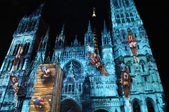 Rouen (tulipsrock) Tags: summer church boats lights religion rowing impressionist
