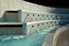 Fontaine olympique (Diegojack) Tags: eau lausanne fontaine ouchy olympique