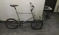 BMX Delivery custom J. Nachlin (jimn) Tags: bike basket handmade delivery modified wald mongoose fillet cargobike brazed utilitybike
