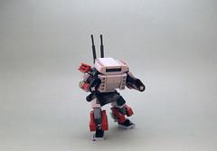 Golem (alt angle) (dukayn66) Tags: lego mecha mech moc microscale mechaton mfz mf0 mobileframezero