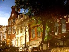 IMG_7013 Alkmaar (Traud) Tags: holland reflection wasser alkmaar spiegelung niederlande gracht strase