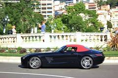 SLS Roadster (6GTO) Tags: canon square photography eos mercedes benz casino montecarlo monaco mc piazza supercar v8 sls amg roadster 550d worldcars 6gto