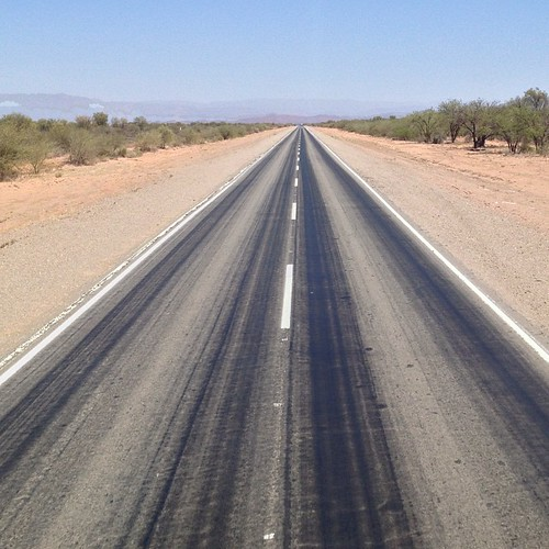 The roads are long in Argentina #travel #argentina