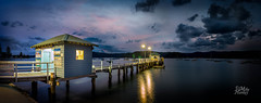 Palm Beach Ferry (Mike Hankey.) Tags: sunset palmbeach