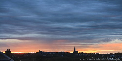 Arlon colorful sunrise