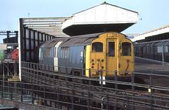 British Rail Class 486 EMU, Ryde Pier Head, UK (Steve Hobson) Tags: rail class emu british isle pierhead wight ryde 486 3tis