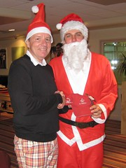005 - The annual RedHedz Roll-Up Xmas Trophy organized by Neville Wootton (Neville Wootton Photography) Tags: golf humour fatherchristmas winners canonixus70 stmelliongolfclub nevillewootton mensgolfsection bestdressed 2010golfseason redhedzrollupxmastrophy