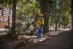 Don Tito, el barrendero (GMH) Tags: chile santiago trabajo calle retrato hombre personaje escoba trabajador barrendero ltytrx5 ltytr1