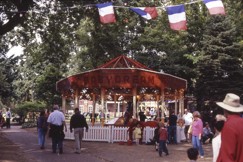 French Carousel Exhibit