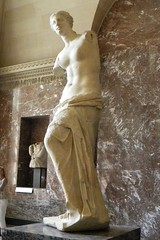 Venus (Nikonography 71) Tags: travel sculpture holiday paris france tourism statue museum venus louvre milo visit musee marble myth l100
