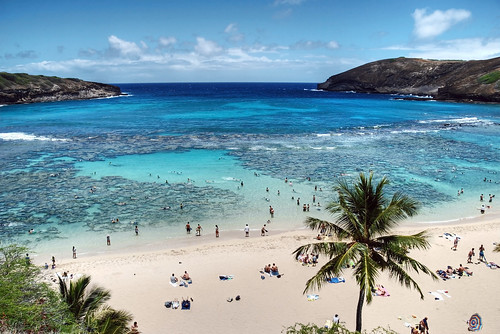 Hanauma Bay, Oahu, Hawaii, USA 5 HDR