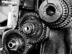 Engranatges aeronautics / Airplane motor gears (SBA73) Tags: airplane airport gear motor gears aeroport aeroclub festamajor sabadell engranaje engranatge