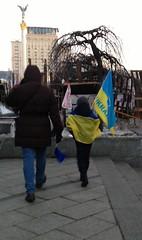 Flags: young and proud (GrusiaKot) Tags: family boy people man proud flag pride ukraine flags protesta piazza ukrainian kiev  maidan ukraina bandiera manifestazione  ucraina maydan  majdan  2013 autogestione piazzaindipendenza kyjiv khreschatik