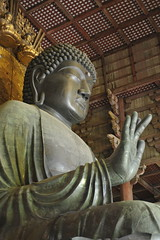 Todai-ji at Nara (Gabriel Bussi) Tags: world wood building heritage statue japan temple grande big madera kyoto buddha buddhist edificio buddhism grand unesco daibutsu   gran nara kioto holz estatua gebude giappone buda templo todaiji worldheritage tempel legno weltkulturerbe   budismo japn budista humanidad patrimonio buddhismus patrimoniodelahumanidad groser edificacin buddhistisch buddhista buddhiste edificazione dificie tempio dificacion todaiji