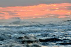 Sunset Surf (Darren-) Tags: ocean sunset sea newyork beach beautiful beauty landscape sand hamptons nikon outdoor longisland westhampton blinkagain bestofblinkwinners nikond5100 blinksuperstars