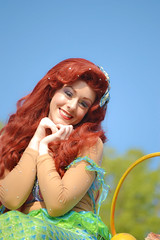 Ariel (sonicdinglehopper) Tags: ariel disneyland disney parade thelittlemermaid soundsational mickeyssoundsationalparade