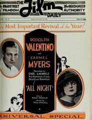 All Night - Nov. 19, 1922 - filmdaily2122newy_1133 (universalstonecutter) Tags: silent 1922 allnight universalpictures paulpowell rodolphvalentino carmelmyers mediahistorydigitallibrary mediahistoryproject carolynhauer