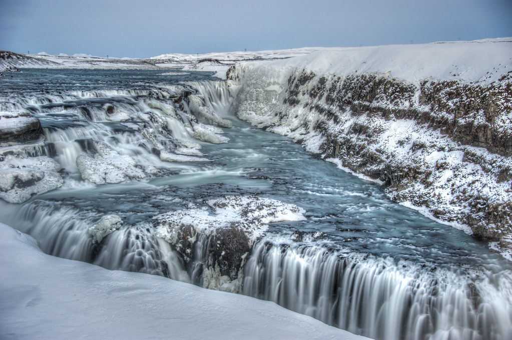 Gulffoss, Iceland's largest waterfall.