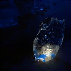 Safiir (GaidaFoto) Tags: stilllife lightpainting abstract ice night sapphire  talv j sinine abstraktne valgusmaaling safiir