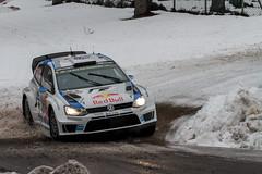 Ogier - Ingrassia Sweden Rally WRC 3 (Marco Rimola) Tags: red snow classic cars ice car vw volkswagen mud sweden rally bull karlstad r wrc sverige polo redbull motorsport drift rallycar ogier polor rallysweden ingrassia wrc2 rallysweden2014 hagfrs